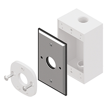 ADC Camera Outlet Box Adapter - Single Gang ADC-OB101