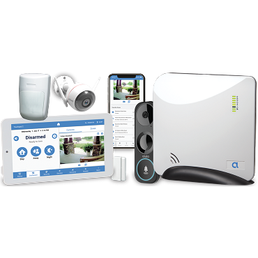 Alula Security Alarm System Package 3