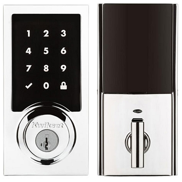 Kwikset Smart Code ZW500 Contemporary Polished Chrome 99160-018